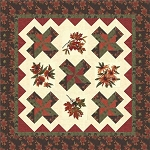 Fall Splendor Quilt Kit, Antler Quilt Design Holly Taylor by Moda