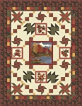 Maple Island Quilt Kit, Antler Quilt Design, Holly Taylor by Moda