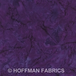 Hoffman Bali Batik Hand dyed Watercolors 1895 N45 New Grape
