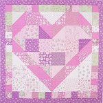 Sweethearts Design from Layers of Charm Plus 1 Book