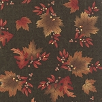 Maple Island 6611 14 Pine Green Leaves, Holly Taylor by Moda
