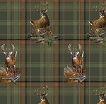 Realtree 9985 Deer Plaid, Print Concepts