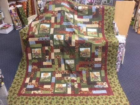Town And Country Square Roads Quilt Kit Holly Taylor By