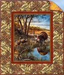 Autumn in the Air 2 Piece Quilt Kit Wilmington Fabrics