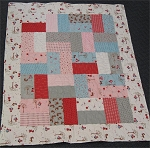 A Walk in the Woods Baby Cakes Quilt Sample