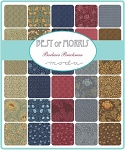 Best of Morris Charm Pack, Barbara Brackman by Moda