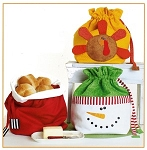 Bread Bags for the Holidays Pattern by Cotton Ginny