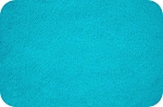 Shannon Cuddle 3 Dark Turquoise Solid Flat Plush Poly