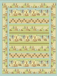Down Under Horizontal Strip Quilt Kit, Henry Glass