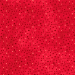 Essentials Dots Flannel 48774 333 Petite Dots Red, Wilmington Prints