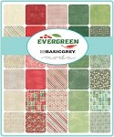Evergreen Jelly Roll, Basic Grey by Moda