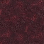 Kaufman 5573 Fusions Tone on Tone Leaf Print 5573 120 Bordeaux