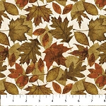 Wild Flannel F20928 12 Leaves, Northcott