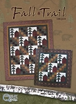 Fall Trail Pattern, Hingeley Road Quilt Designs/MinnesotaCharms.com HRQ604