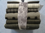 Fat 10 Your Stash Maywood Woolies Flannel Grey Fat Quarter Bundle