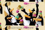 Hoffman H4010 205F Latte Flannel Penguins Ice Cream Cones