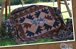 Hoffman Exclusive MN Charms Bear Batik Summer Solitude Quilt Kit