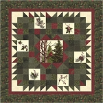Home for the Holidays Quilt Kit, Holly Taylor by Moda