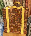 Quilt MN 2014 Red Cities Totebag Kit, Clothworks