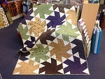 Lady Slipper Lodge Ballerina Quilt Kit, Holly Taylor by Moda