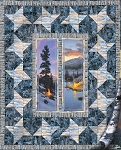 A Last Light Quilt Kit South Sea Imports with Backing