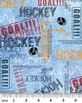 Flannel Hockey Lingo Ice Blue 4935F 05, Kanvas
