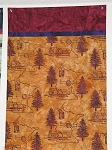 Hoffman Bali Batik MN Charm Amber Logging Pillowcase Kit