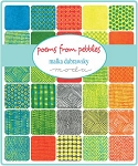 Poems from Pebbles Charm Pack, Malka Dubrawsky by Moda