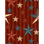 We the People 84387 334 Stars Red, Wilmington Prints