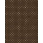 Words to Live By 82455 222 Dots Brown, Wilmington Prints