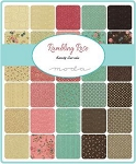 Rambling Rose Jelly Roll, Sandy Gervais by Moda