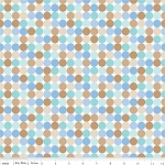 Snips Dots Flannel F3544 Blue, Riley Blake