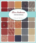 Rue Indienne Charm Pack, French General by Moda