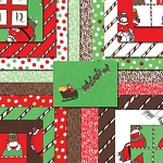 Santa's Little Helpers Jelly Roll, Erin Michael by Moda