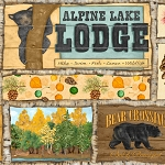 Summer Lodge 38749 237S Allover Sampler, South Seas