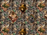 Realtree 10077 Orange Diamonds, Print Concepts