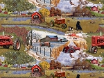 Farmall Four Seasons Scenic Allover 10117, Print Concepts