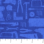 Nuts and Bolts 21584 44 Blue Tonal Tools, Northcott