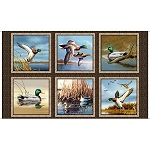 Duck Lake 24770 X Panel, Quilting Treasures
