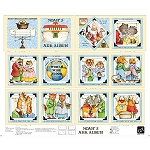 Classic Storybooks Noah's Ark Album Book Panel 24782 X, Quilting Treasures