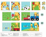 Huggable and Loveable 3363P 01 Book Panel, Mommy & Me, Studio E
