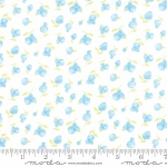 Sweet Baby Flannel 35283 21F Rosebud Blue, Abi Hall by Moda