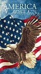 Stonehenge Stars and Stripes 39371 49 Eagle Panel, Northcott