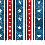 Stonehenge Stars and Stripes 39374 49 Stars Stripe, Northcott