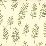Enchanted Pond 6503 11 Cream Pine Needles, Holly Taylor by Moda