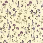 The Potting Shed 6623 11 Flowers Antique White, Holly Taylor by Moda