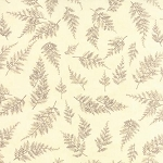 The Potting Shed 6624 11 Ferns Antique White, Holly Taylor by Moda
