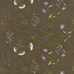 The Potting Shed 6626 14 Floral Flowers Dark Moss, Holly Taylor by Moda