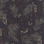 Town Square 6632 16 Winter Pines Dark Blue, Holly Taylor by Moda