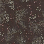 Town Square 6632 20 Winter Pines Mink, Holly Taylor by Moda
